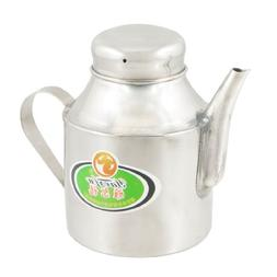 Stainless Steel Capacity Tea Pot Water Kettle Silver Tone