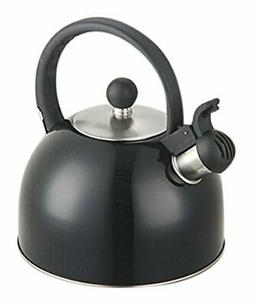 stainless steel tea whistling kettle w trigger
