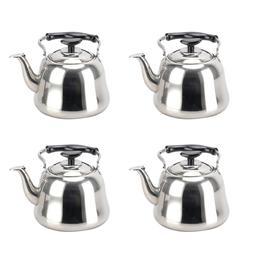 Alpine Cuisine Stainless Steel Whistling Tea Kettle 4.0 Lite