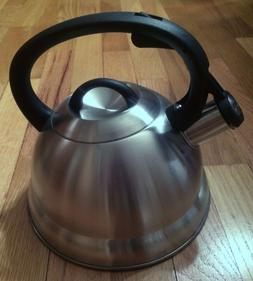 Kitchenworks Stainless Steel Whistling Tea Kettle - Beautifu