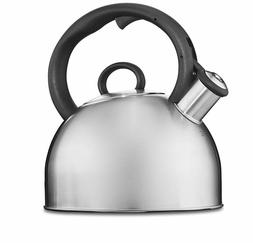 Stainless Steel Whistling Tea Kettle Boiling Water Pot Tea S