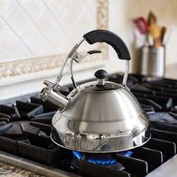 Bellemain Stainless Steel Whistling Tea Kettle for Stovetop