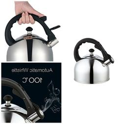 Stainless Steel Whistling Tea Kettle Stove Top Kettles Whist