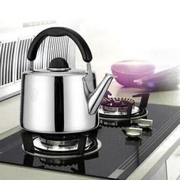Stainless Steel Whistling Tea Kettle Tea Maker Pot Stovetop
