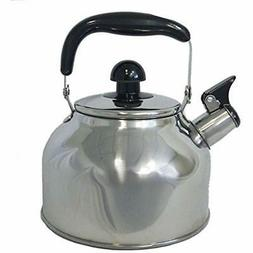 Stainless Teapots Steel Large 4.5 Liter Quart Whistling Kett