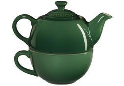 Le Creuset Stoneware Tea Cup for 1, Fennel