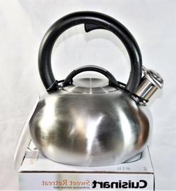 Cuisinart Sweet Retreat 2 Quart Stainless Steel Tea Kettle N