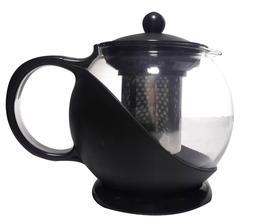 Uniware Tea & Coffee Pot with Filter, 1250ml, Black
