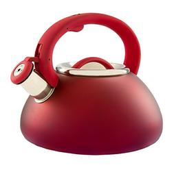 Primula Tea Infuser Kettle - Red