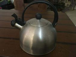 Copco Tea Kettle - 1210 - Brushed Stainless Steel - Used - n