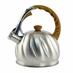 Tea Kettle 2.1 Quart Whistling High-grade Stainless Steel St