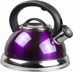 Tea Kettle 2.1L Whistling High-grade Stainless Steel Stove T