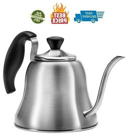 Tea Kettle for Stove Top Premium Goose neck Small Pour Over