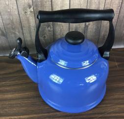 Le Creuset Tea Kettle - Harmonic Blue - 2.2qt. - Rare Color