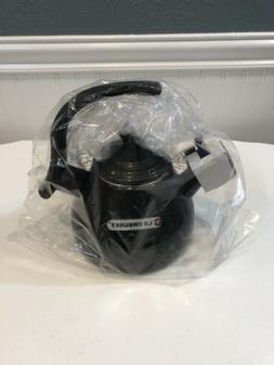 Le Creuset tea kettle Midnight Grey New With Box $120