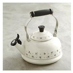 Le Creuset Tea Kettle New Petit Fruits 1.7 Qt Enamel Steel H