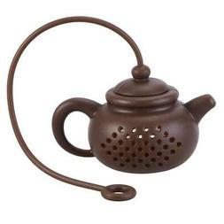 """Tea Kettle"" Silicone reusable Tea Infuser"