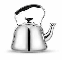 Tea Kettle Stovetop Teapot Stainless Steel Hot Water Kettle