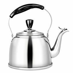 AMFOCUS Tea Kettle Stovetop Whistling Teapot Teakettle Stain