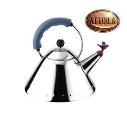 Tea Kettle Teapot ALESSI 9093 in 18/10 Stainless Steel - 200