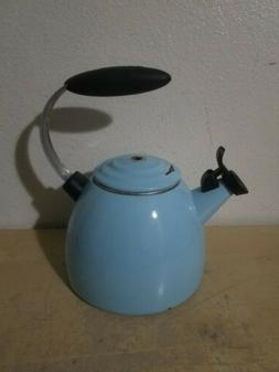 tea kettle turquoise 1 5qt