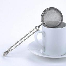 Tea Strainer Stainless Steel Mesh Infuser Sphere Tea Ball Ke