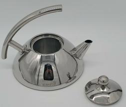 Teabox™ Bevel Stainless Steel Tea Kettle with Infuser