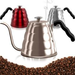 Coffee Kettle with Thermometer Flow Home Kitchen Dining Cook