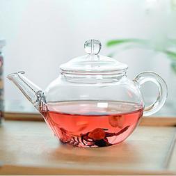 Transparent Teapot Heat Resistant Glass Teapot <font><b>With