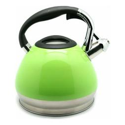 Creative Home Triumph Tea Kettle, 3.5 quart, Green