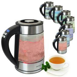 VOCHE® VARIABLE TEMPERATURE GLASS KETTLE 1.7 LITRE 2000W CO