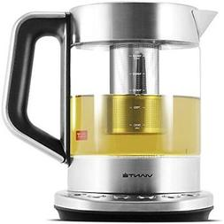 Viante Coffee Tea & Espresso Appliances KET-100 Electric Gla