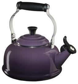 Le Creuset Whistling 1.7 Quart Purple Enameled Tea Kettle NI