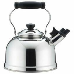 Whistling Kettle Stainless 2.5l Made in Japan Yj1943 by Yosh