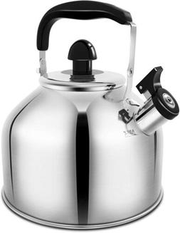 Amfocus Whistling Tea Kettle 3.7 liter