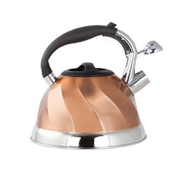 Imperial Home Whistling Tea Kettle Stainless Steel Copper Te