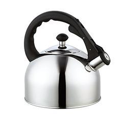 Whistling Tea Kettle Stainless Steel Tea Kettles Stovetop Cl