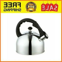 whistling tea kettle stainless