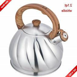 Whistling Tea Kettle Whisting Stainless Steel Stove Top Whis