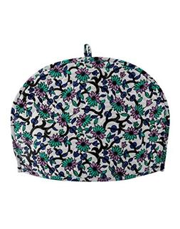 Ekavya White and Green Traditional Tea Cosy Cotton Arts and