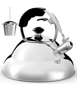 Willow & Everett, Tea Kettle - Surgical Whistling Teapot,  M